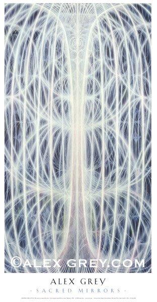 画像1: ALEX GREYポスター「UNIVERSAL MIND LATTICE」 (1)