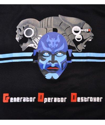 画像1: MELTING GALAXY ユニセックスTシャツ「TEMPLE TWISTERS / Generator Operator Destroyer  」