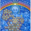 画像2: ALEX GREY ポスター「Albert Hofmann & the New Eleusis」 (2)