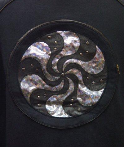 画像2: COSMIC WEBユニセックス・ジャケット「スパイラル/ブラックA」