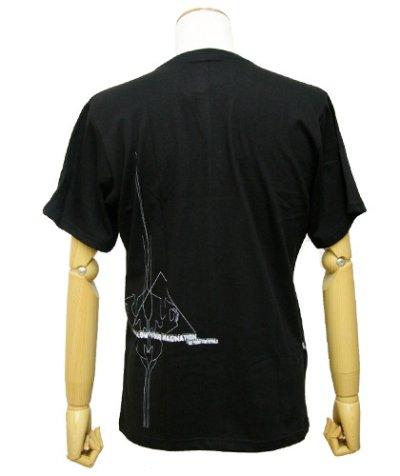 画像2: PLAZMAメンズTシャツ「I M A GIN ATION/ブラック」