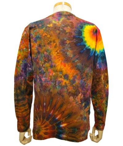 画像1: GRATEFUL TIE-DYE FACTORYメンズ・長袖Tシャツ025/Mサイズ