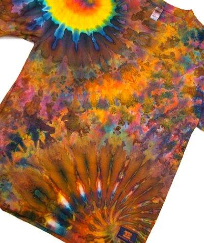 画像3: GRATEFUL TIE-DYE FACTORYメンズ・長袖Tシャツ025/Mサイズ