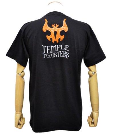 画像2: MELTING GALAXY ユニセックスTシャツ「TEMPLE TWISTERS / Aalekh Boom! 」