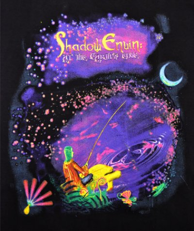 画像1: MELTING GALAXY ユニセックスTシャツ「SHADOW ENUIN / at the Earth's ddge 」