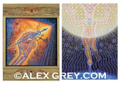 画像1: ALEX GREY ポストカード・10枚セットB