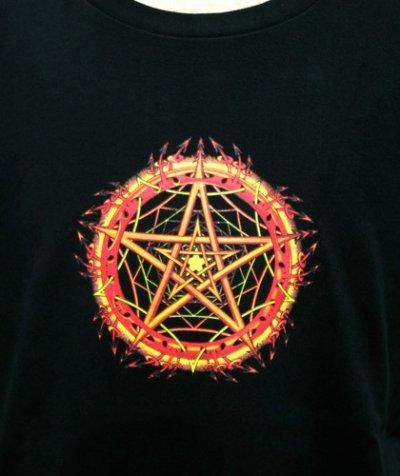 画像3: SPACE TRIBEメンズ・Tシャツ「Stellar Fire」