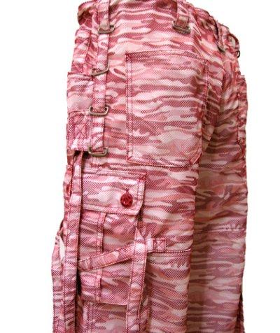 画像2: ILLIGユニセックス・パンツ「ハイパーブラックウィドウズ/ピンクカモ」