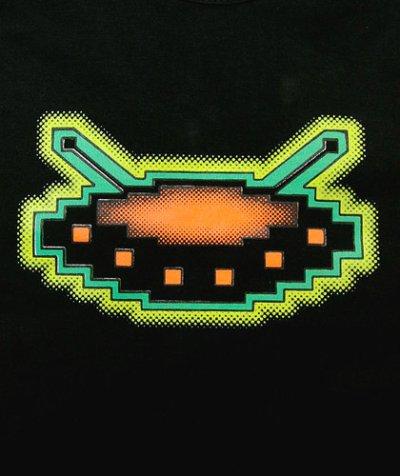 画像1: SPACE TRIBEレディース「スラッシュシングレット/UV UFO」