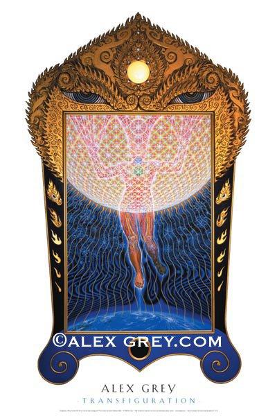画像1: ALEX GREYポスター「TRANSFIGURATION」 (1)