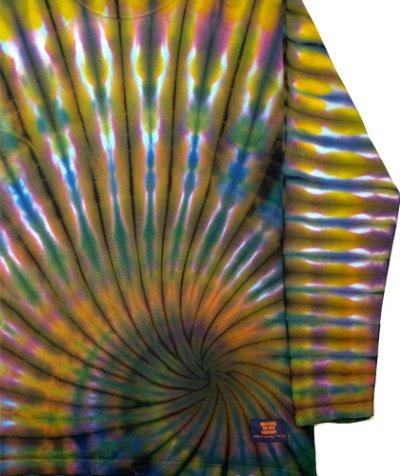 画像3: GRATEFUL TIE-DYE FACTORYメンズ・長袖Tシャツ024/Sサイズ