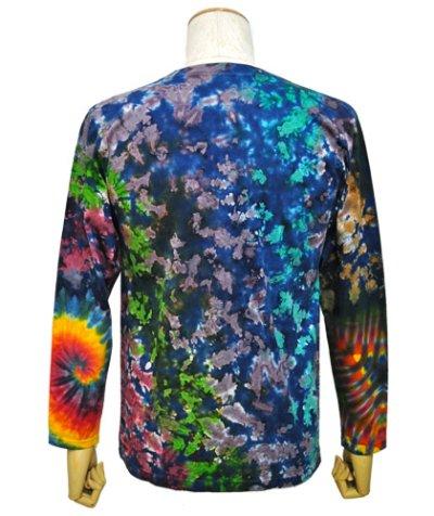 画像2: GRATEFUL TIE-DYE FACTORYメンズ・長袖Tシャツ042/Sサイズ
