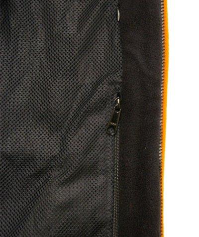 画像3: BONEレディース・パッチワークジャケット/ブラック&オレンジ