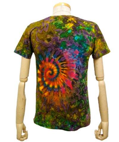 画像2: GRATEFUL TIE-DYE FACTORYメンズ・半袖Tシャツ04/Sサイズ(細身)